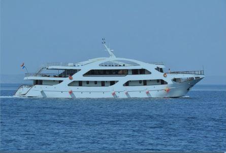bateau croatie